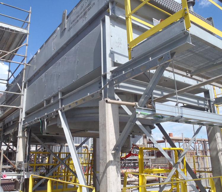 RÉALISATION #13  CHANTIER / IGNIFUGATION   Notre expertise garantit la sécurité des travaux exécutés dans un environnement en opération.…